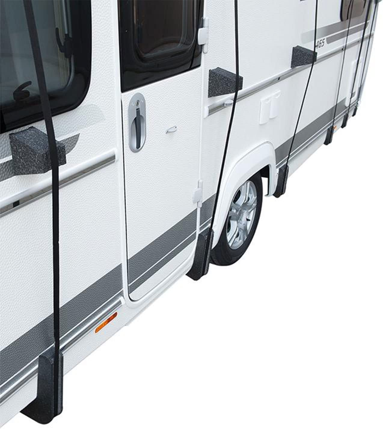 Set Protection Corners and Spacer for Roof Tarpaulin Cover for Caravan /& Motorhome
