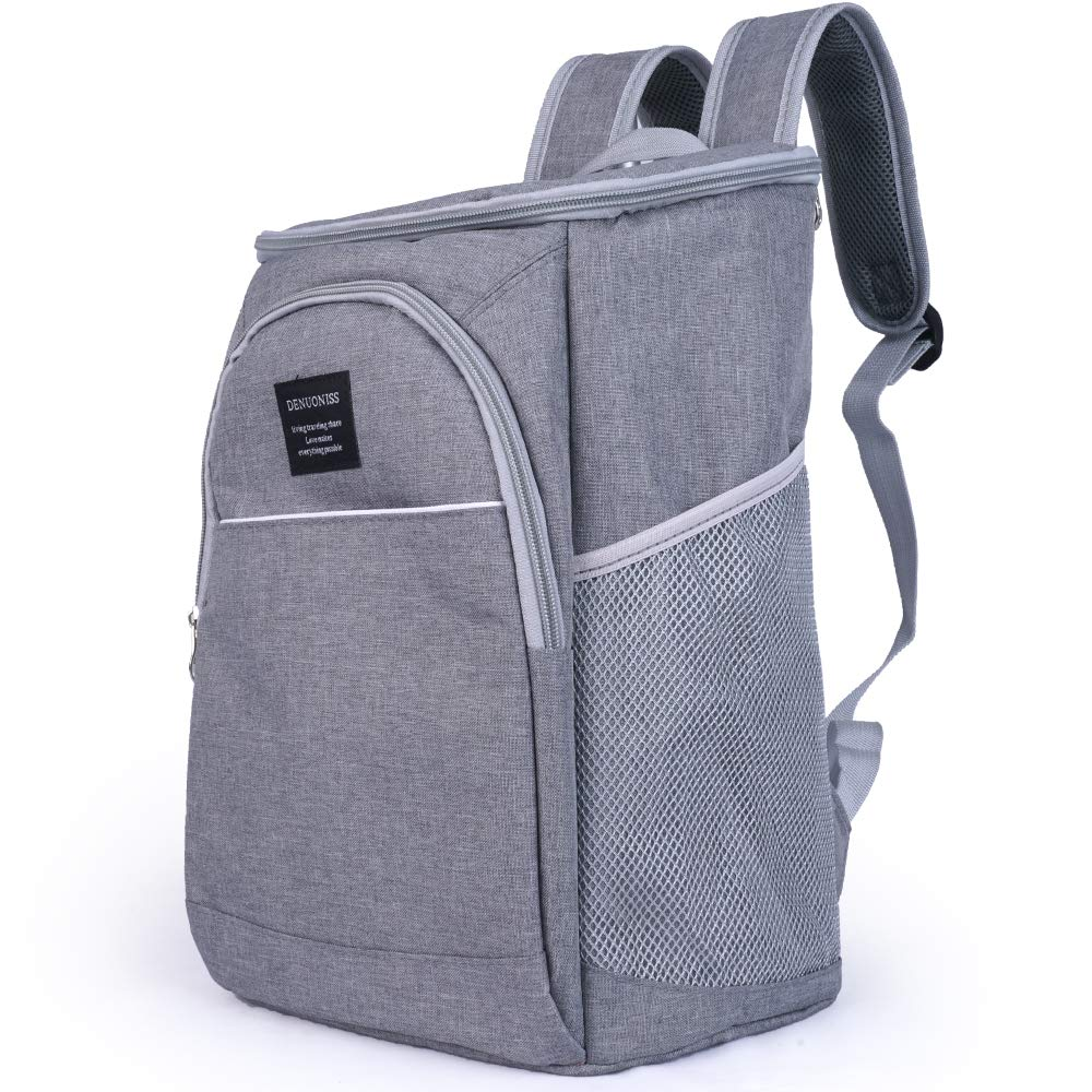 Insulated Cooler Backpack (S-Gray)