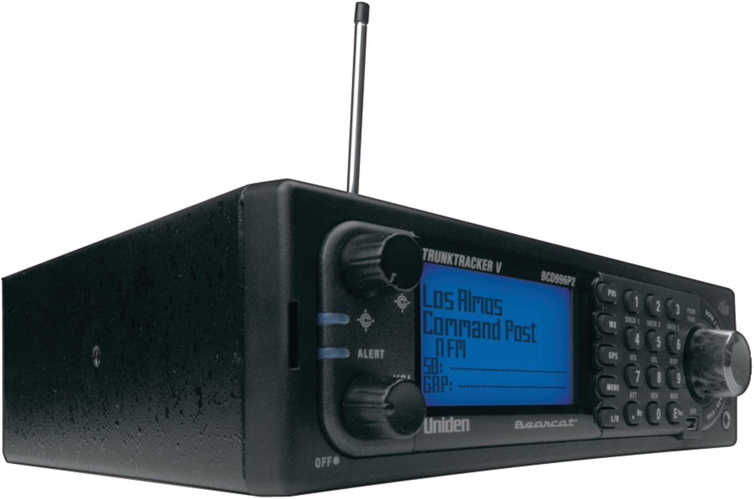 Uniden BCD996P2 Phase 2, Digital Mobile Scanner With Location based scanning and 25,000 Dynamically Allocated Channels