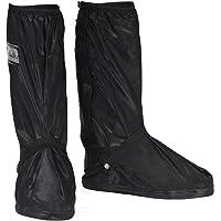 HSEAMALL Scarpe Pioggia Impermeabile Copriscarpe Riutilizzabile Stivali di Copriscarpe Antiscivolo con Zip