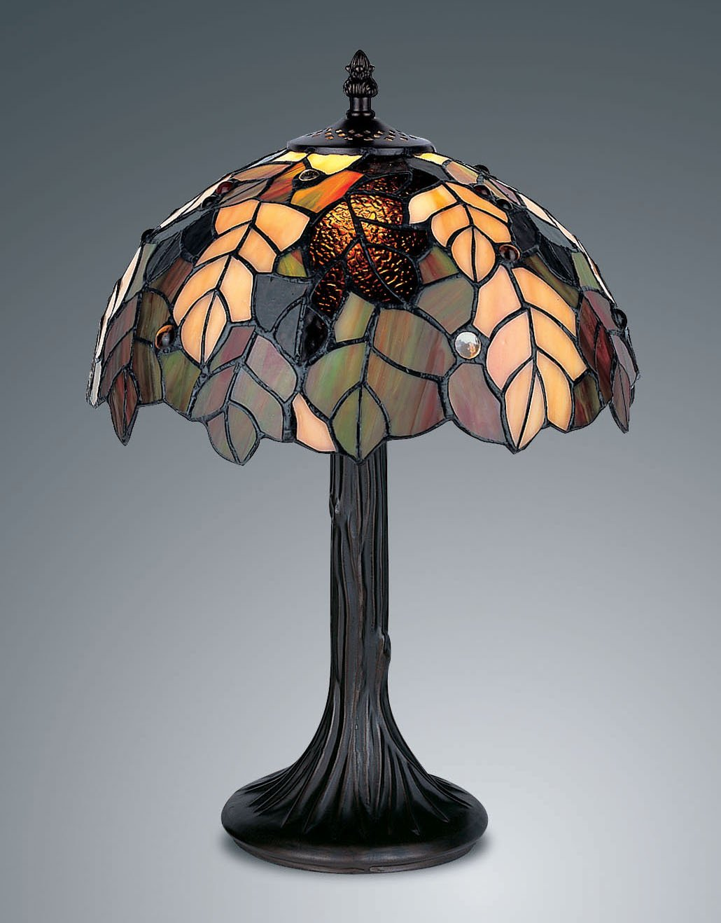 Harvest tiffany style table lamp amazon lighting aloadofball Image collections