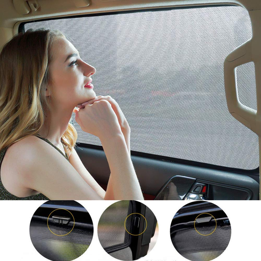 Protezione dai Raggi UV per Audi Q3 2011-2018 6 Tendine Parasole per finestrini Auto TUTU-C-C
