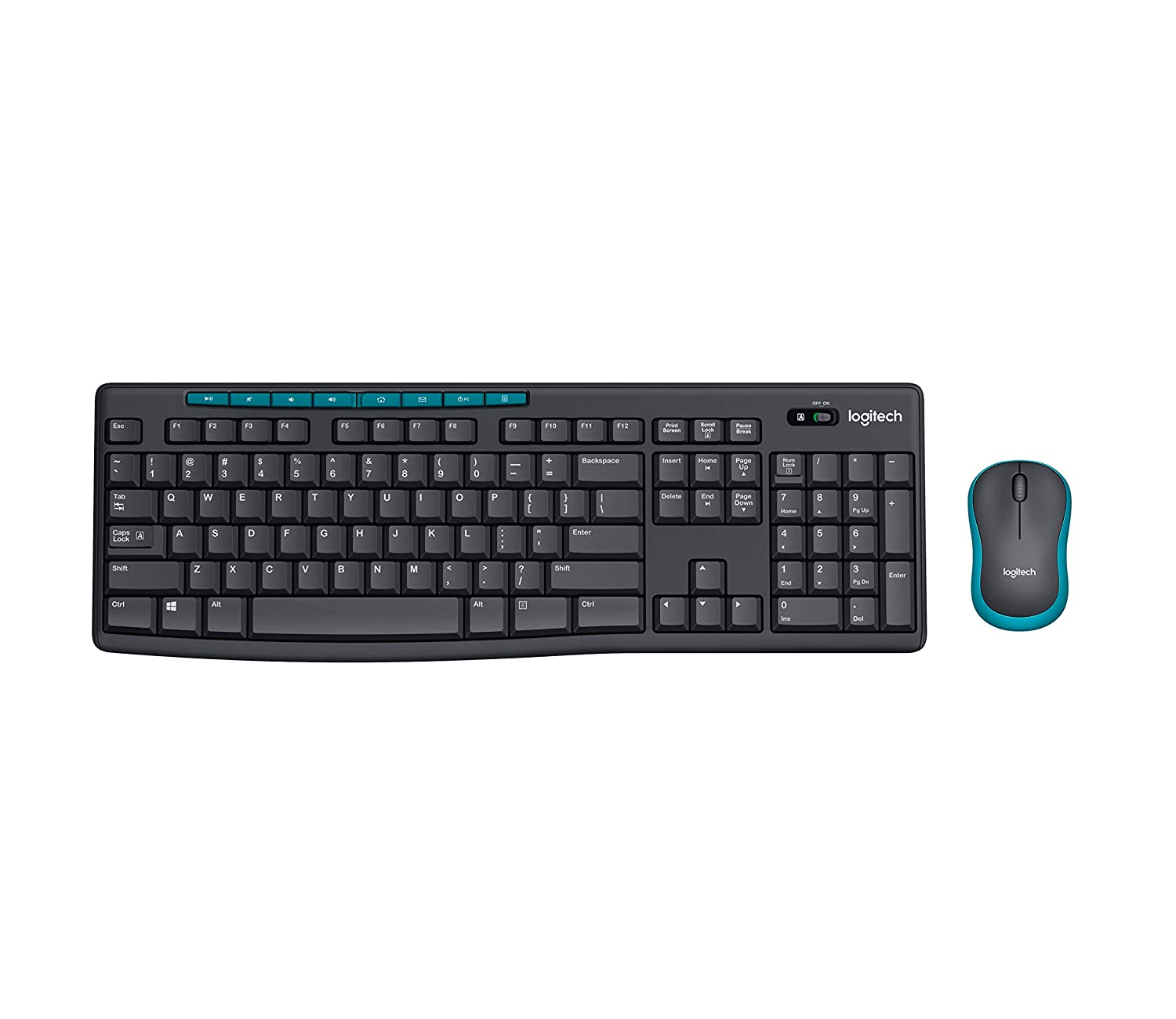 a09f96a7ccf Amazon.in: Buy Logitech MK275 Wireless Keyboard and Mouse Combo Online at  Low Prices in India | Logitech Reviews & Ratings