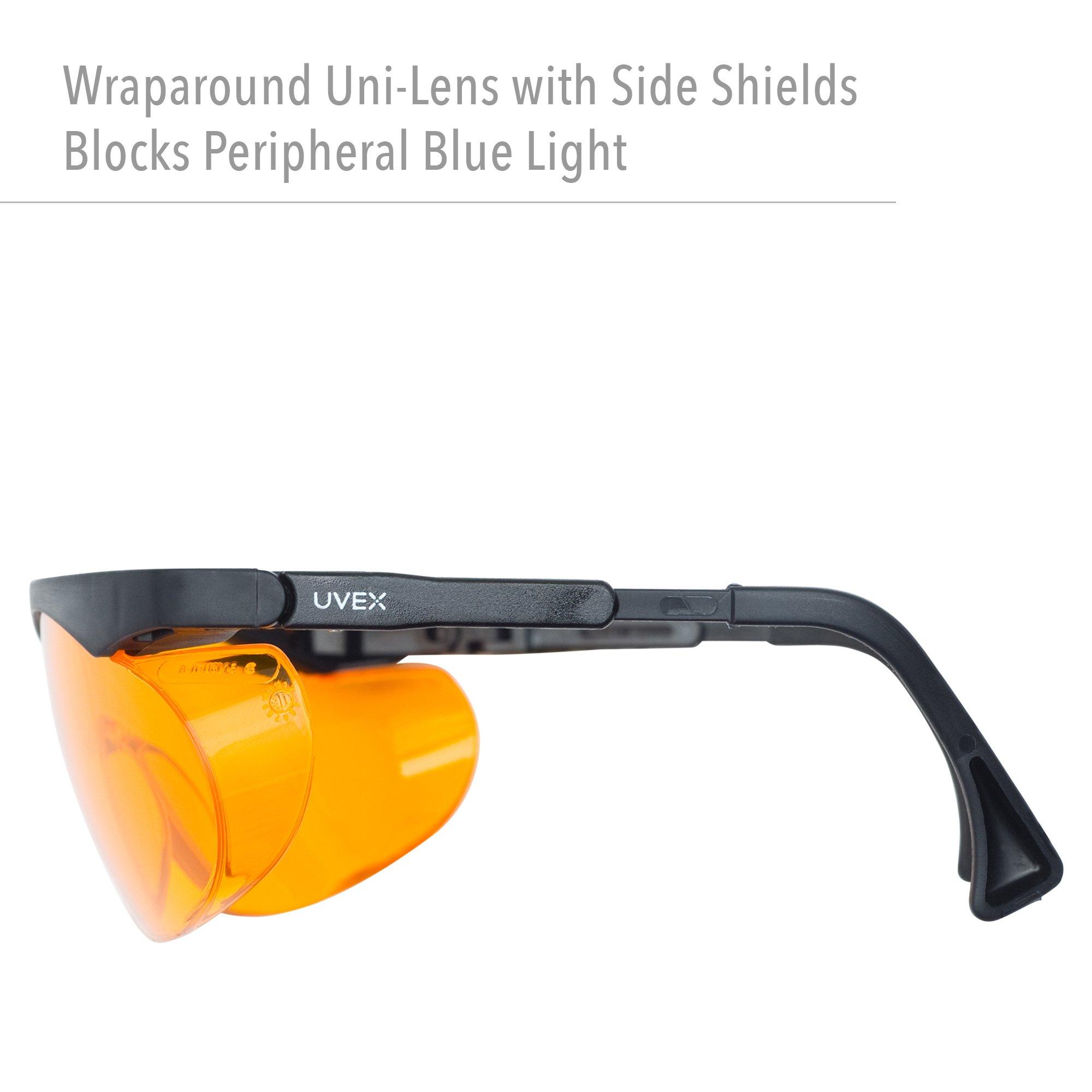 Uvex Skyper Blue Light Blocking Computer Glasses With Sct