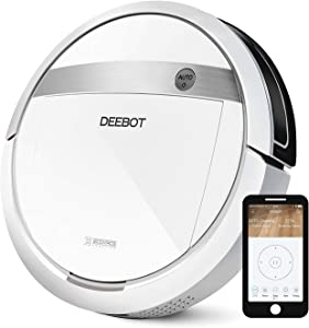 ECOVACS DEEBOT M88 Robotic Vacuum Cleaner for Pet Hair, Carpet and Bare Floors,Wifi Connected, Compatible with Alexa (Renewed)
