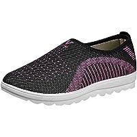 Zapatillas de Deportivos de Running para Mujer Gimnasia Ligero Sneakers Zapatos Casuales Transpirables de Fondo Plano…
