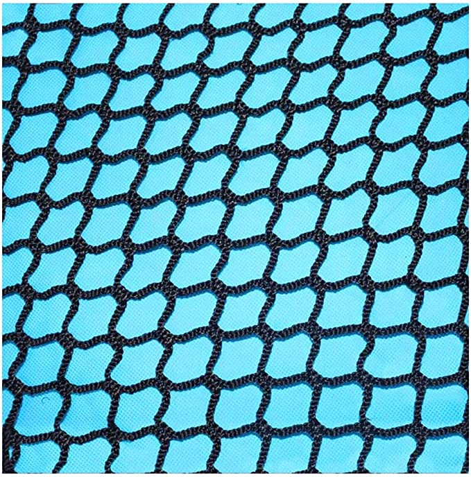 Size : 1x1m SunYaZhou Nets BHH Cargo Cover Car Trailer Net Stair Balcony Child Net Protection Child Safety Netting Pet Isolation Net Rope Climbing Net Hanging Clothes Ceiling Black Indoor Outdoor