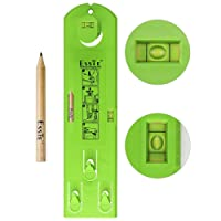 Picture Frame Level Wall Hangers Kits- Esste Perfect Easy Suspension Measurement and Marking Ruler Tools Upgraded with Pencil Marker hanging kits