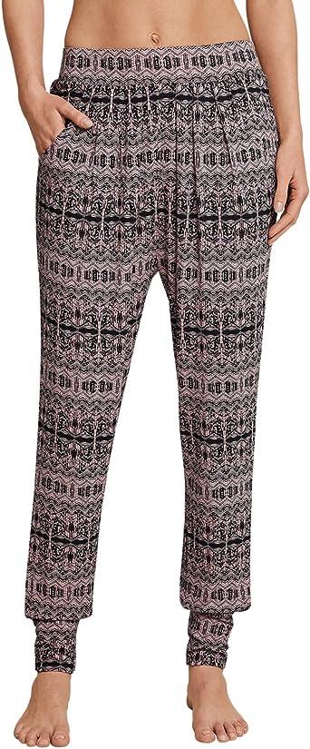 Schiesser Mix & Relax Lounge Jerseyhose Lang Pantalones de Pijama para Mujer