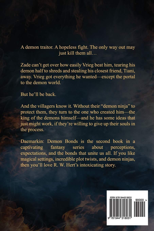 Demon Bonds: Volume 2 (Daemarkin): Amazon.es: R. W. Hert ...