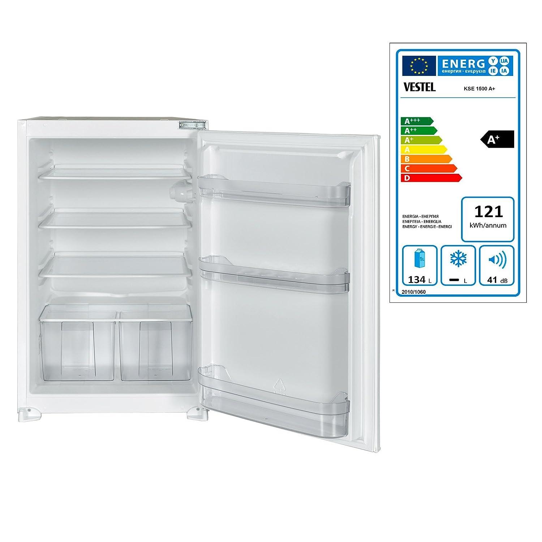 Techwood KSE 1500 A+ Kühlschrank/Kühlteil134 liters: Amazon.de ...