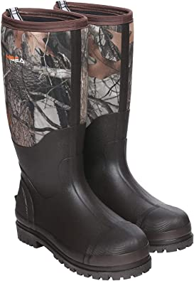 Hisea Work Boots Rubber Hunting Boots