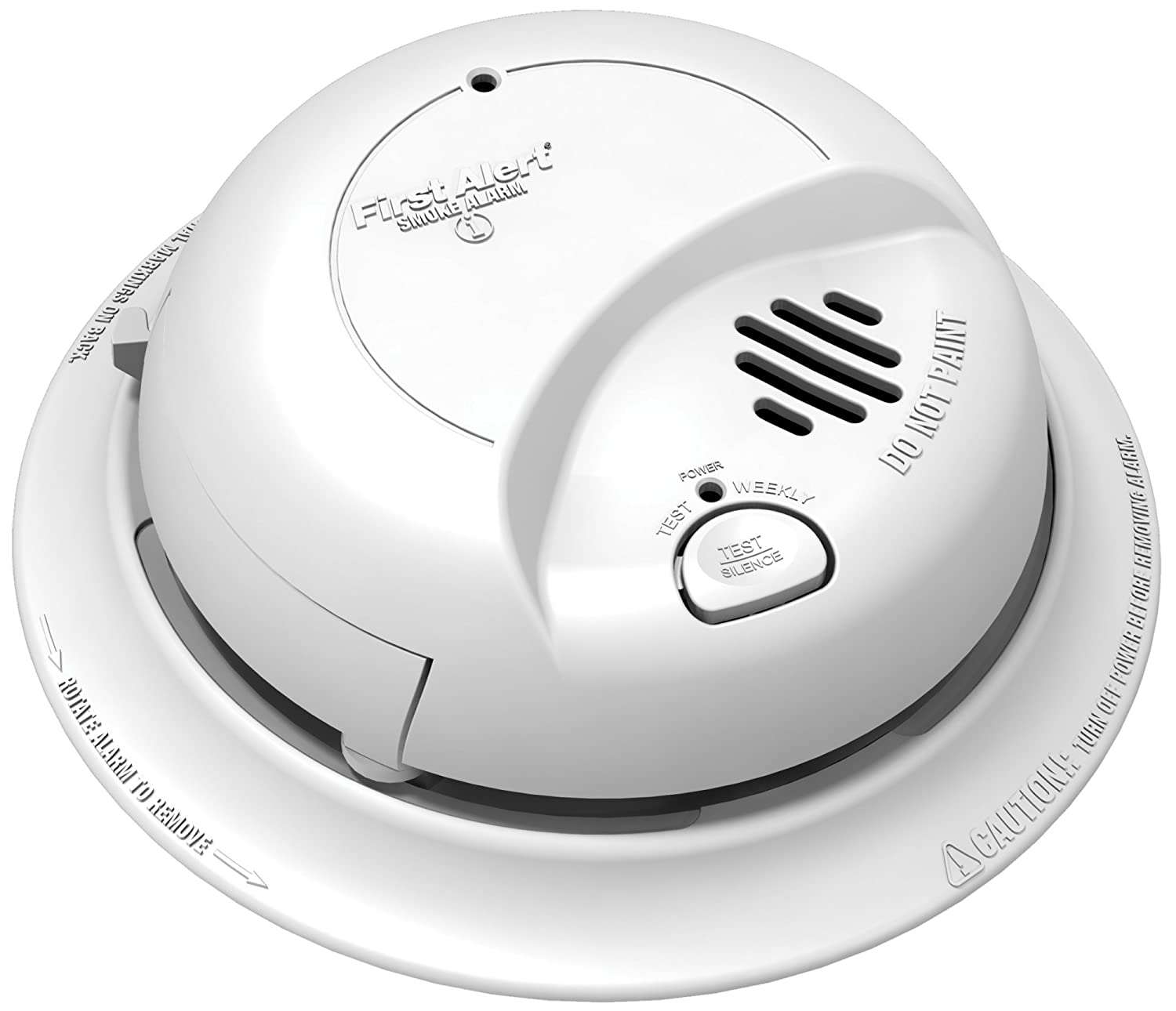 First Alert BRK Brands 9120B Hardwired Smoke Alarm with Battery Backup 4 Pack