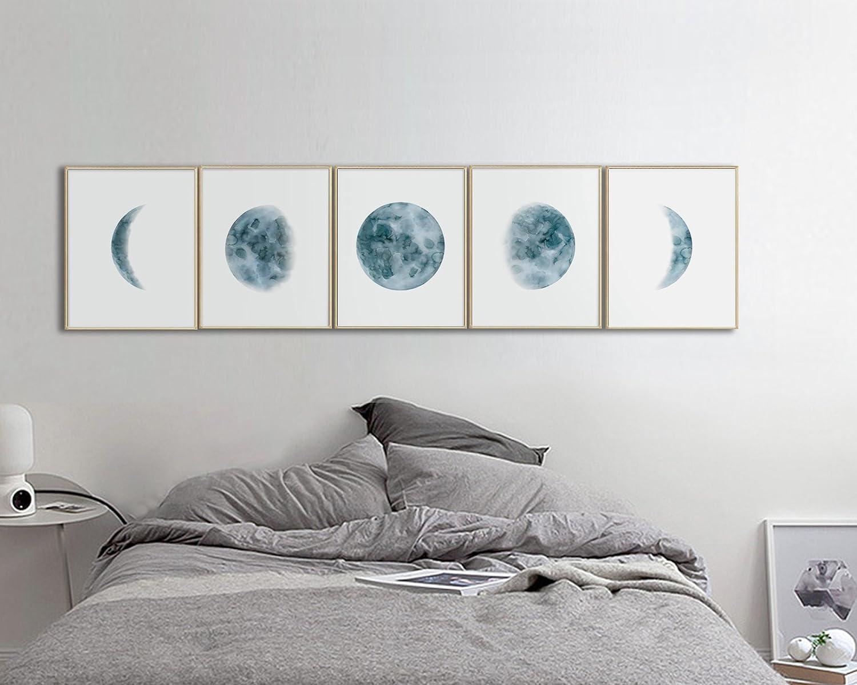 home decor Moon child prints-  gift New home 2 x print set