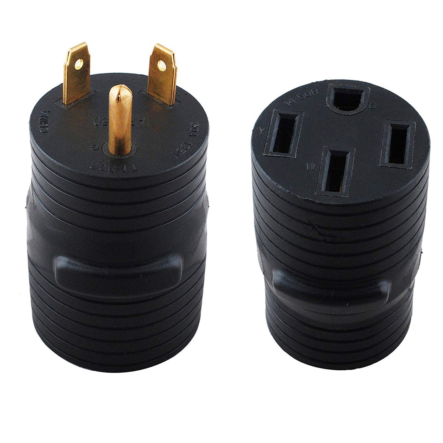 Wadoy 30 Male to 50 Amp Female Adapter