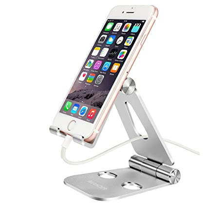 Amazoncom Pecham Portable Foldable Adjustable Cell Phone Desk