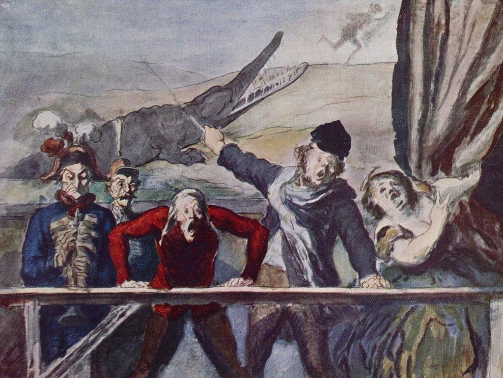 Lais Puzzle Honoré Daumier - - - Die Vorstellung 2000 Teile d154ed