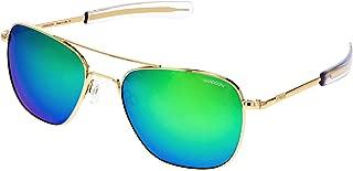 product image for Randolph 23k Gold Classic Aviator Sunglasses for Men or Women Non-Polarized 100% UV
