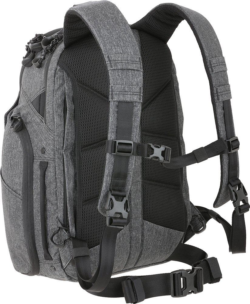 Maxpedition Gear Entity 23 CCW-Enabled Laptop Backpack 23L for Covert Concealed Carry, Charcoal by Maxpedition (Image #2)