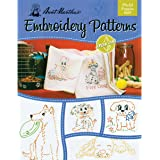 Aunt Marthas Playful Puppies Embroidery Transfer Pattern Book Kit