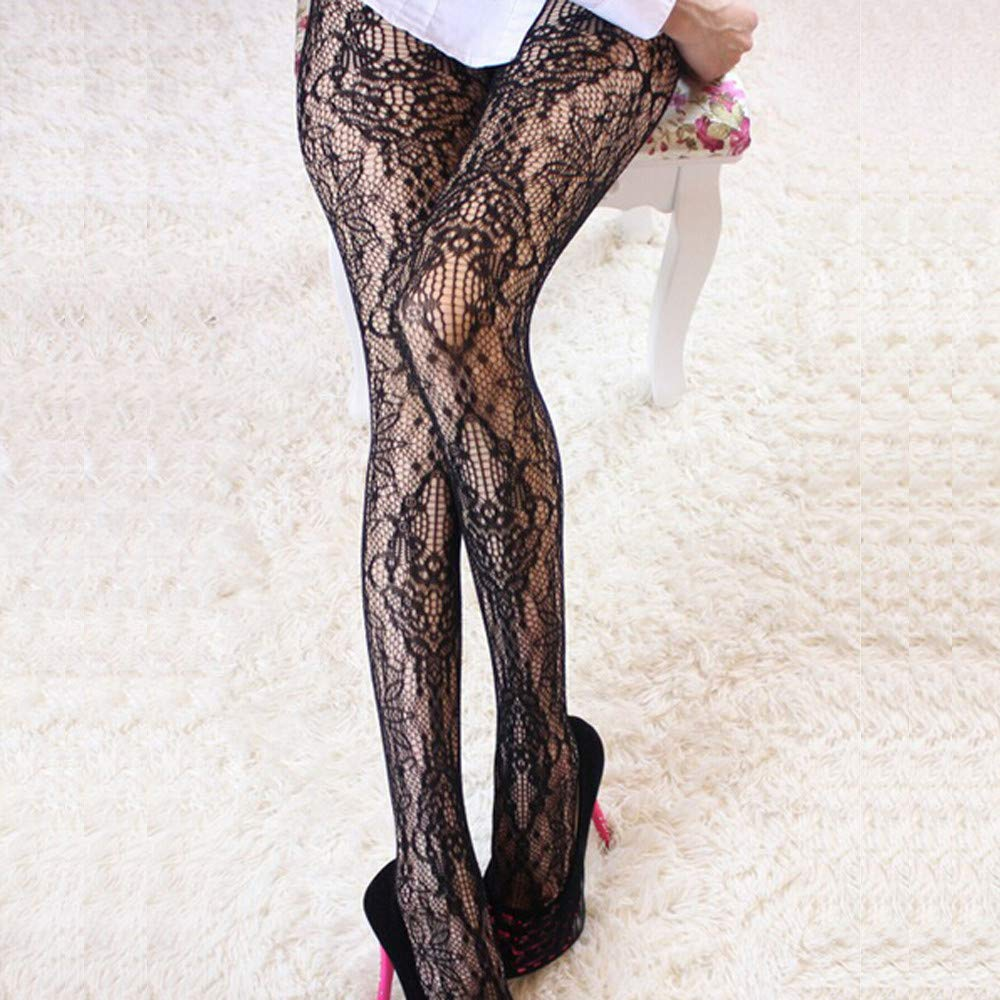 Amazon.com: Lessonmart Sexy Womens Net Fishnet Bodystockings Pattern Pantyhose Club Tights Stockings Calcetines Divertidos Chaussette Calcetines Mujer: ...