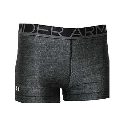 Under Armour Women's Compression HeatGear Anti Odor Athletic Running Shorty Shorts