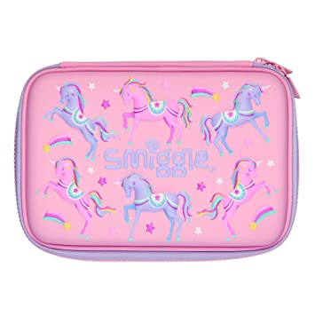 Amazon.com: Smiggle Imagine - Estuche rígido para lápices ...