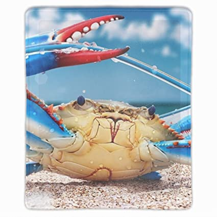e233904eb5a32 Amazon.com : Crabs Crustaceans Animals Mouse Pad Wrist Support and ...