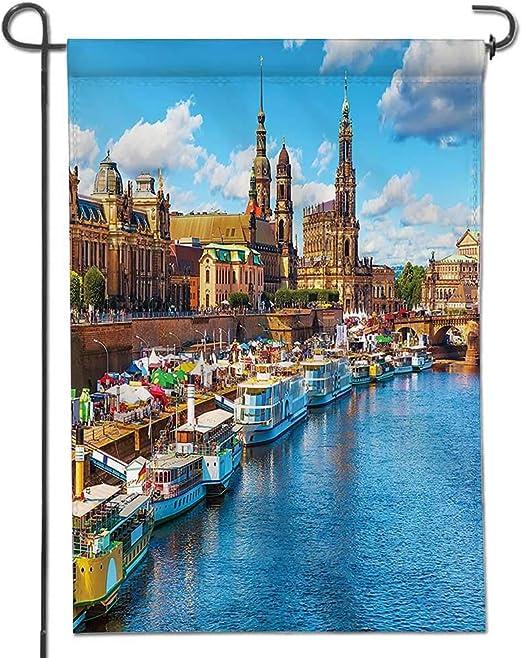 Mikihome Bandera clásica, colección Toledo España Old City Over ...