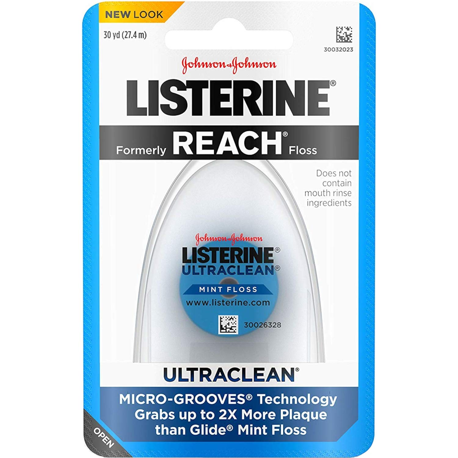 Listerine Ultraclean Floss, 30 Yards each (Value Pack of 5)