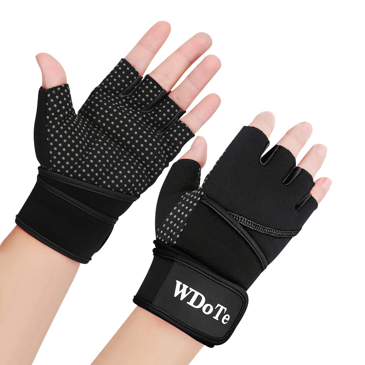Weight Lifting Gloves, Gym Workout Gloves with 18