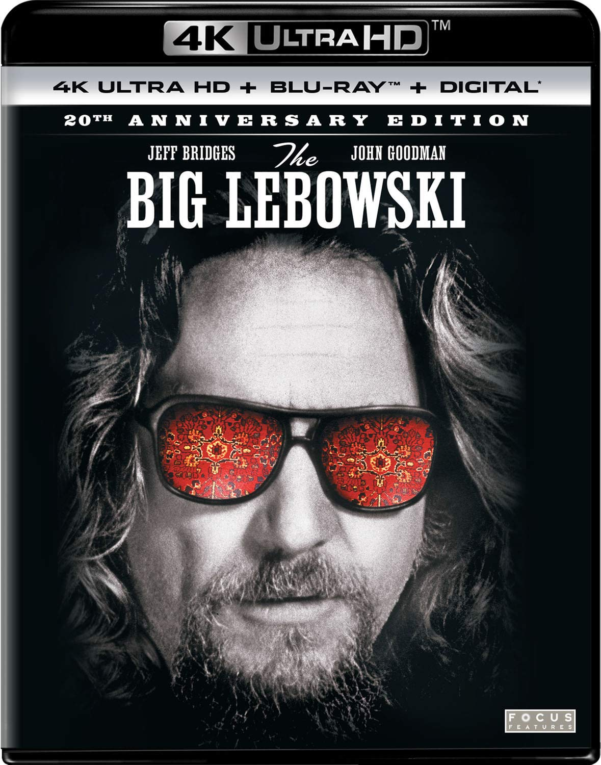 4K Blu-ray : The Big Lebowski (20th Anniversary Edition) (With Blu-ray, 4K Mastering, Anniversary Edition, Digital Copy, 2 Pack)