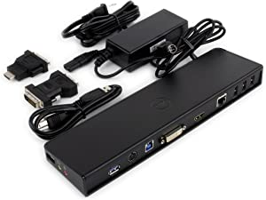 Dell Docking Station - for Inspiron 15R 5521, 17R 5721, 17R 5737, 7537, 7737; Latitude 3540, 3540 BTX; XPS 11, 15