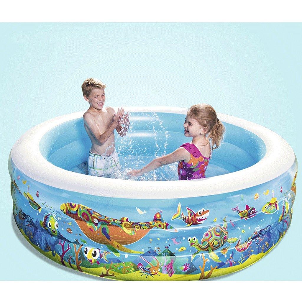 Aufblasbare Badewanne LCSHAN Aufblasbares Pool-großes Pool-Zunahme-Bad Pool aufblasbares Pool (Farbe   Package A)
