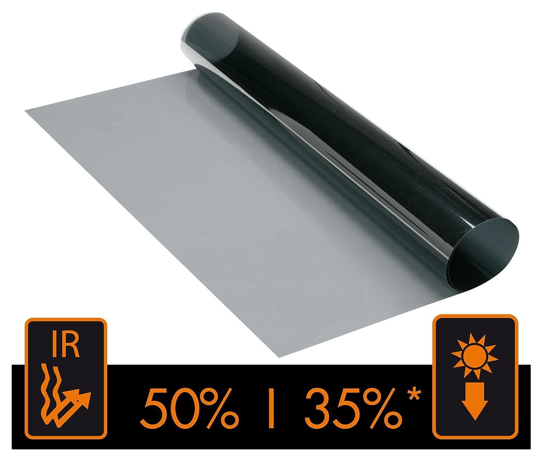 3m 15/% VLT schwarz pro Glasfenster T/önungsfolie Rollen Auto Zuhause B/üro Fenstert/önung E Support 50cm