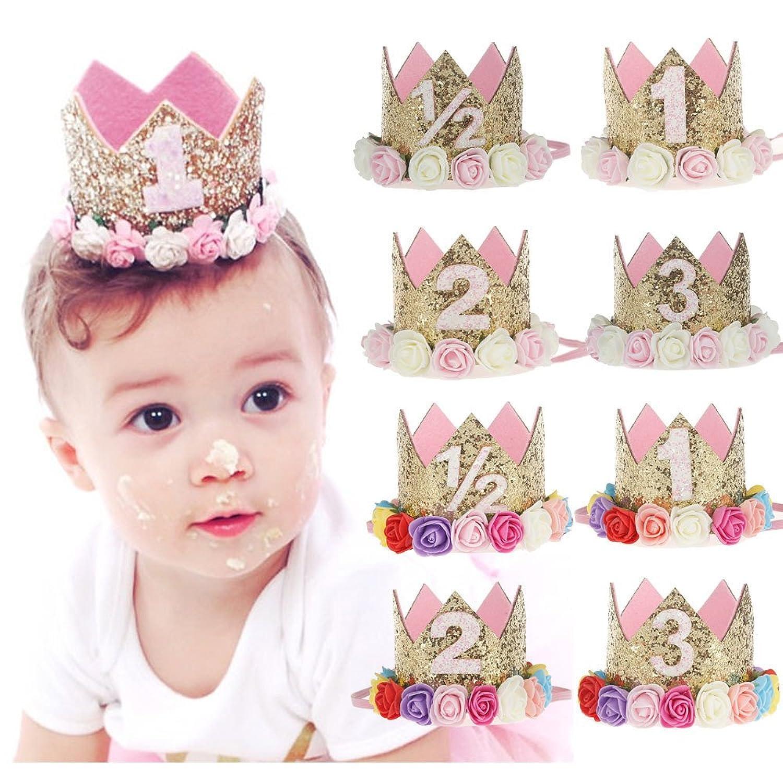 Amazon Baby Princess Tiara Crown Baby Girls Kids Half A Year