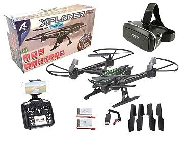 Drone radiocontrol con camara Xplorer Wifi FPV + Gafas VR. Pilota ...
