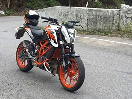g a auto accessories crash bars frame protector guard for ktm duke