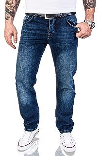 MERISH Jeans Herren Destroyed Hose Jeanshose M/änner Denim 2081-1001