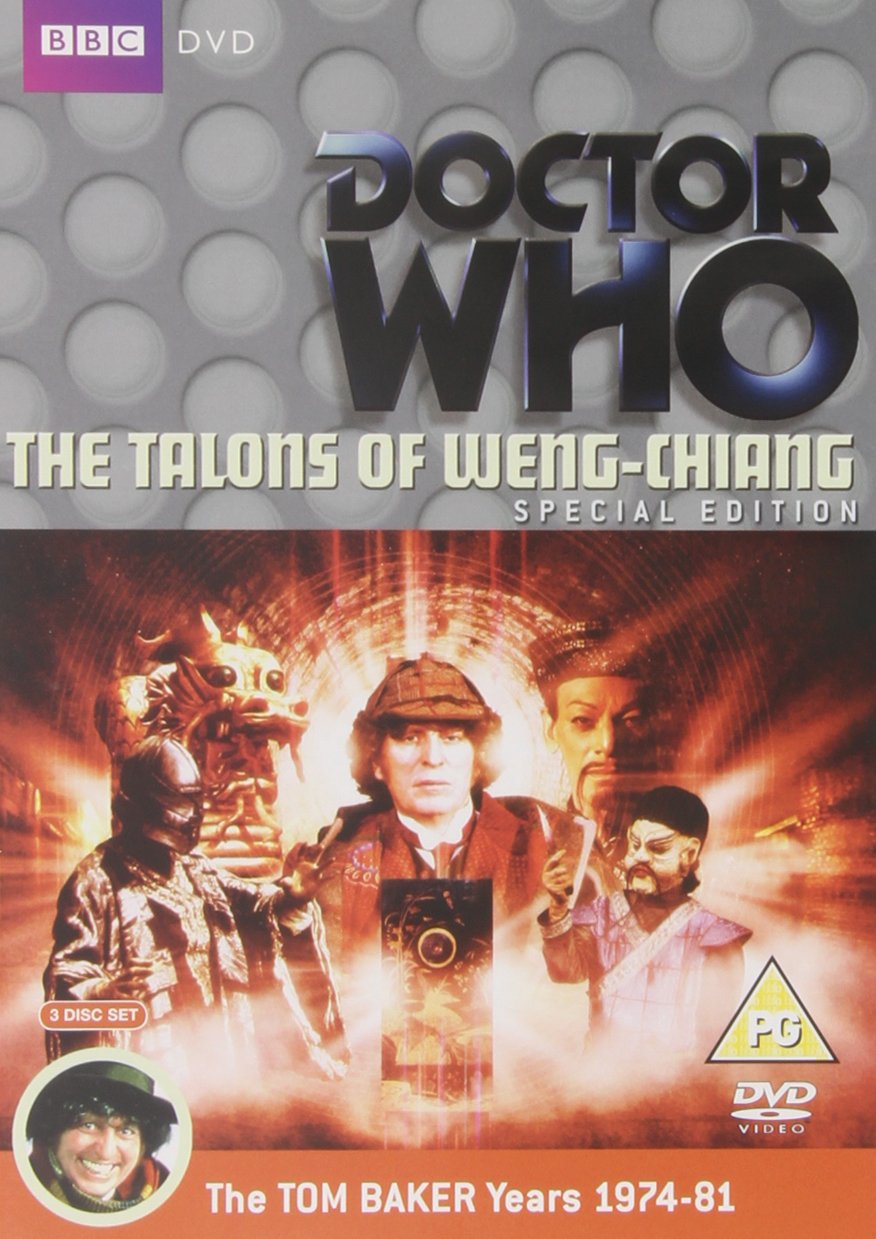 53ee3f70eca9d2 1 The Caves of Androzani   The Talons of Weng-Chiang   Doctor Who  The  Movie DVD 1974  Amazon.co.uk  Tom Baker