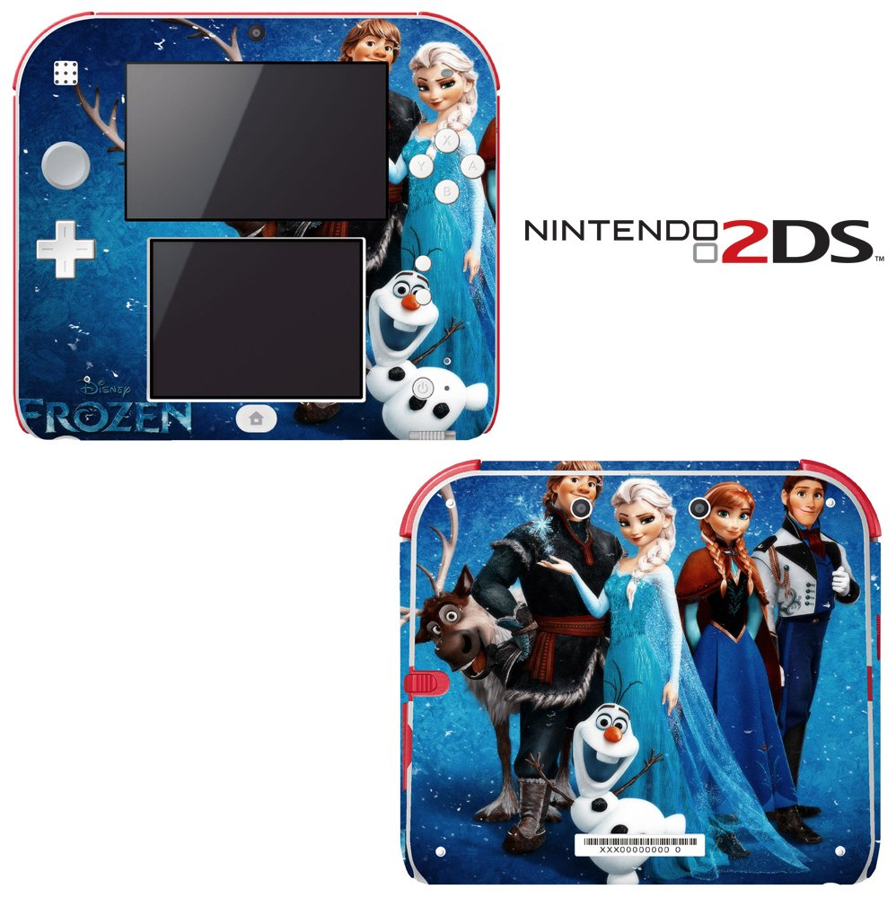 Frozen Decorative Video Game Decal Cover Skin Protector for Nintendo 2Ds