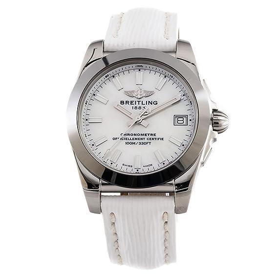 Breitling Galatic 36 W433012/A779 - Reloj de cuarzo para mujer, 36 mm,