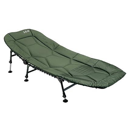 Bedchair 8 Bein Angelliege Lucx® Kapfen Liege Garten Liege Carp Fishing Bed