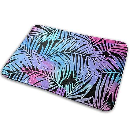 Amazon Com Kofjso Tropical Palms Seamless Pattern In Colours