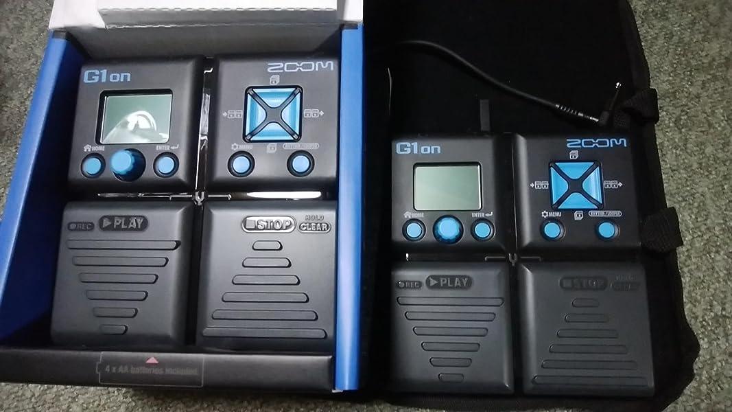 ZOOM-ズーム-G1on-ギター-マルチエフェクター