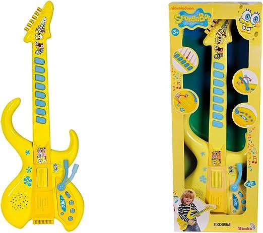Simba Bob Esponja - Guitarra Rock 9498548: Amazon.es: Juguetes y ...