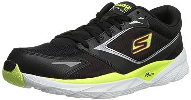 skechers go run 3. skechers men\u0027s go run ride 3 running shoe,black/lime,9 o