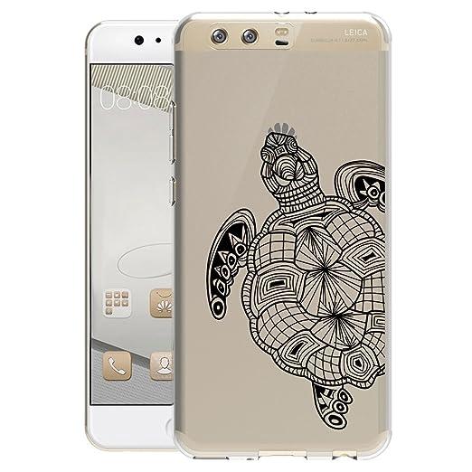 12 opinioni per Per Huawei P10 Cover , YIGA Moda piccola tartaruga Cristallo Trasparente
