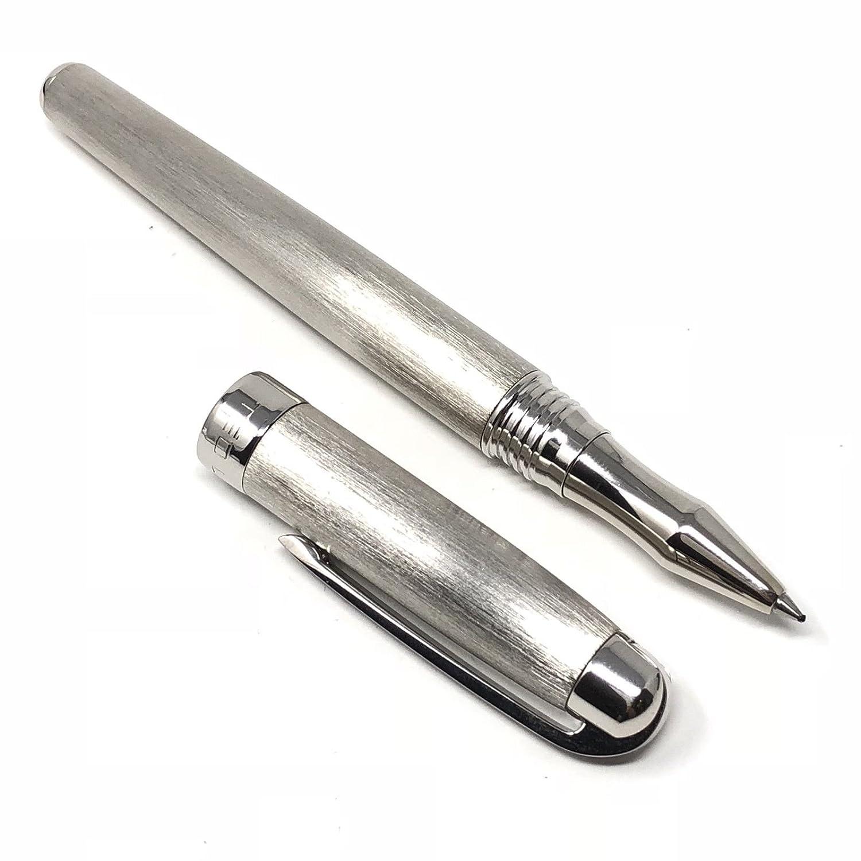 Ted Lapidus S5600101 - Bolígrafo (plata cepillada, acabado plateado) plateado) plateado) 240deb