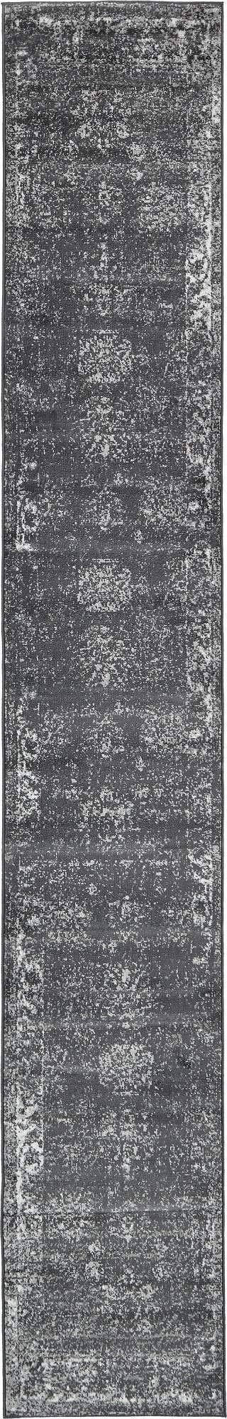Unique Loom 3134055 Area Rug, 2' x 13' Runner, Dark